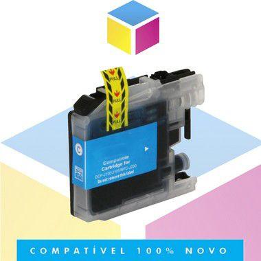 Cartucho de Tinta Compatível com Brother LC 103C LC 105C Ciano | 4310DW 4510DW 4710DW 4410DW | 13ml