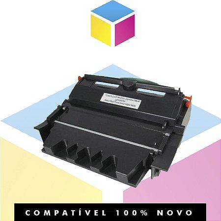 Toner Compatível com T640 Preto | T642  T644  X644  X642  X646  64018SL | 32K