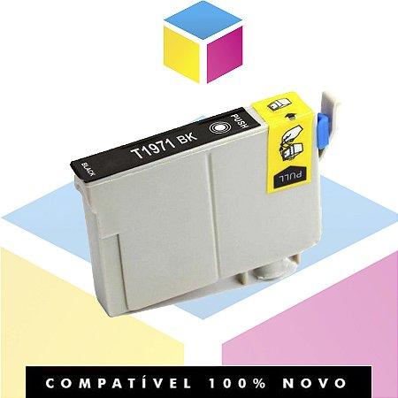 Cartucho de Tinta Epson 197 T 197120 T 197 Preto | XP 101 XP 201 XP 214 XP 401 XP 411 WF 2532 | Compatível 15ml