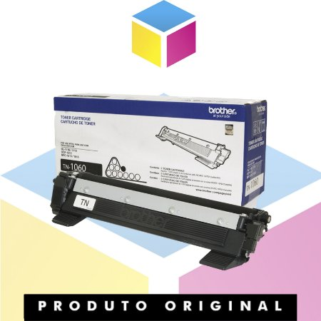 Toner Original Brother TN 1060 Preto   DCP 1602 DCP HL 1210 1512 DCP 1617 NW HL 1112 HL 1202 HL 1212 W  TN 1000   1K