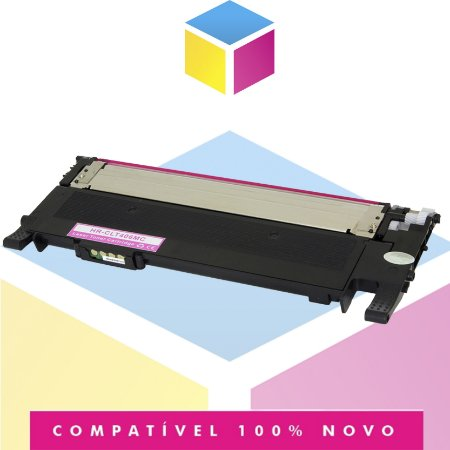 Toner Compatível com Samsung 406 CLT-M406S Magenta | CLP365W CLP365 CLP360 C460FW | 1k