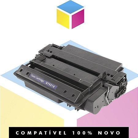 Toner Compatível HP Q7551X | P3005 P3005DN P3005D P3005N M3035MFP M3027MFP | 12k