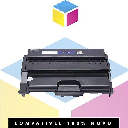 Toner Compatível com Ricoh Aficio SP 3510 | SP3500 SP3400 SP3500 SP3510SF SP3500SF | Compatível 10k