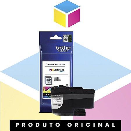 Cartucho de Tinta Brother LC3039BK LC 3039 Preto | J5845 J5945 J6545 J6945 | Original 6k