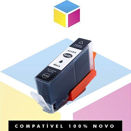 Cartucho de Tinta Compatível com HP 564 Preto | 3070A 3520 3526 4620 4622 5512 5514 | 22,5ml