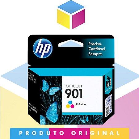 Cartucho de Tinta HP 901 CC656AB Colorido Original | J4660 J4580 J4550 J4540 J4680 | 13 ml