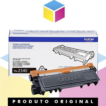 Cartucho de Toner Brother TN2340 Original | HL-L2320D HL-L2360DW MFC-L2740DW MFC-L2720DW | 1.2K
