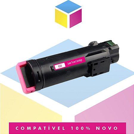 Toner Compatível Xerox XP6510 Magenta | Phaser 6510 Workcentre 6515n | 2.4K