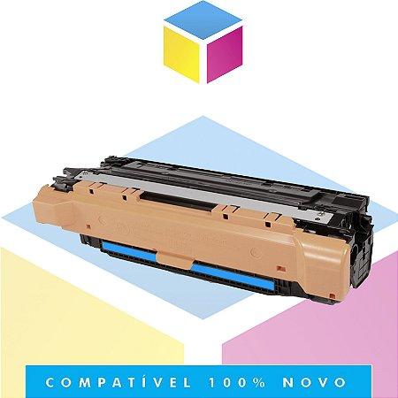Toner Compatível com HP CE251A CE401A Ciano   CP3525 CM3530 CP3525DN CP3525N CP3525 CM3530FS   6k