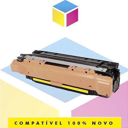 Toner Compatível com HP CE252A CE402A Amarelo | CM3530 CP3525 M575 M570 M551 | 7k