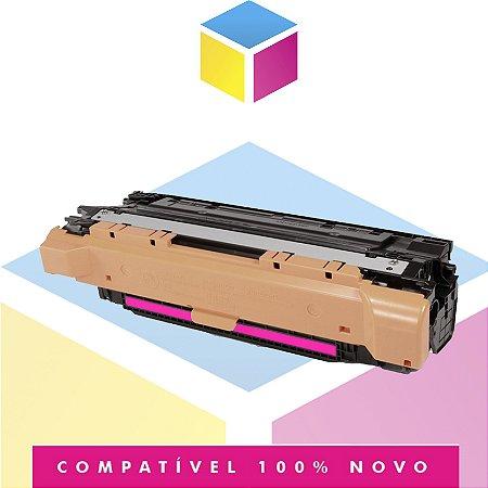 Toner Compatível com HP CE253A CE403A Magenta   CM3530 CP3525 M575 M570 M551   7k