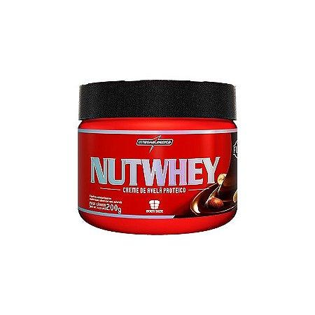 NutWhey Cream (Creme de Avelã Proteico) (200g) - Integral Medica
