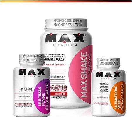 Kit Definição - Max Titanium