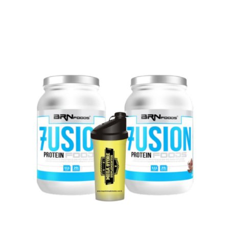 Fusion whey protein x2  - BRN FOODS