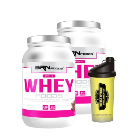 2x Pink Whey Combo