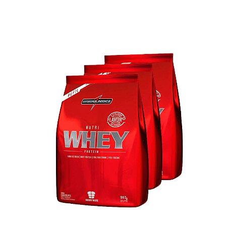 3x Nutri Whey (900g) - Integralmedica