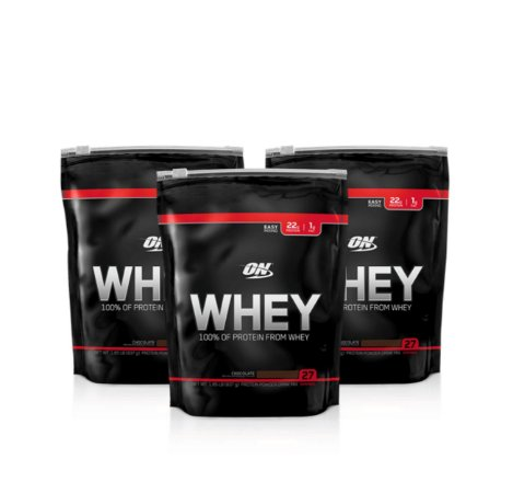 3x 100% Whey ON - Optimum Nutrition