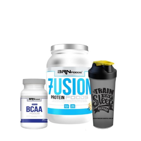 Fusion Whey (900g)  Combo - BRN FOODS