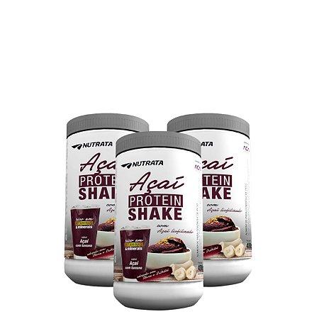 Combo Açaí Protein Shake (3 Potes)
