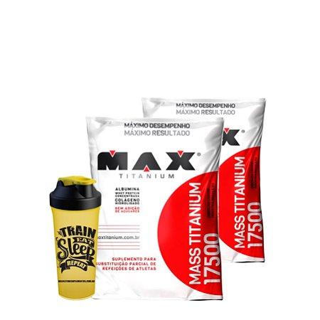 2 Massas (3kg) Max Titanium