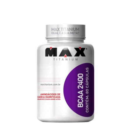 BCAA 2400 (60 Caps) - Max Titanium