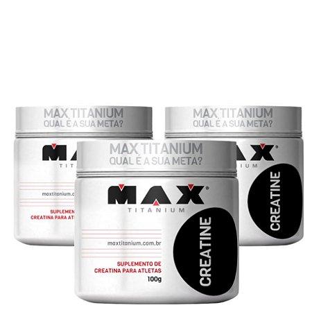 X3 Crea. (100g cada) - Max Titanium