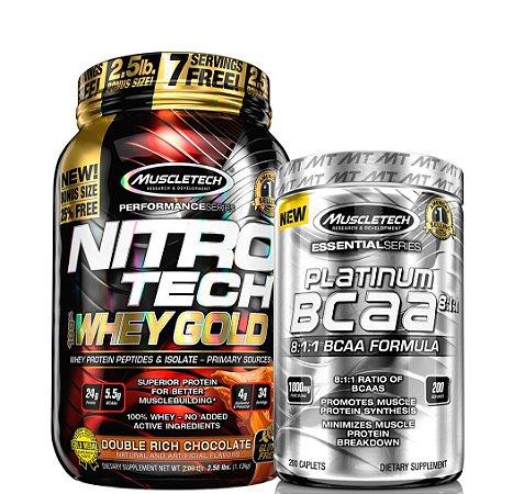 Nitro Combo (1,13kg)  - Muscletech