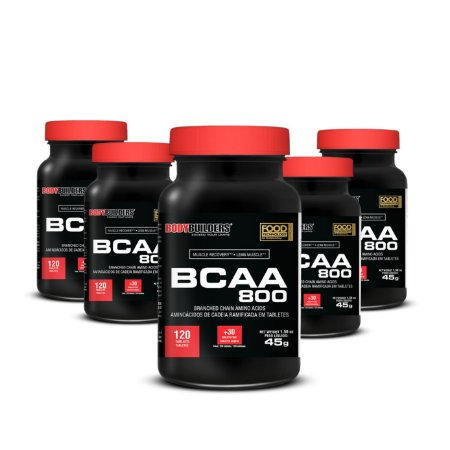 X6 BCAA 800 (120 caps) - BodyBuiders