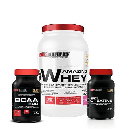 100% Amazing Whey Combo - Bodybuilders
