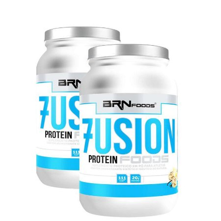 Fusion Whey (900g)  2 Potes - BRN FOODS
