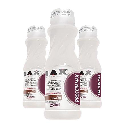 3X Protein Max (250ml) - Max Titanium