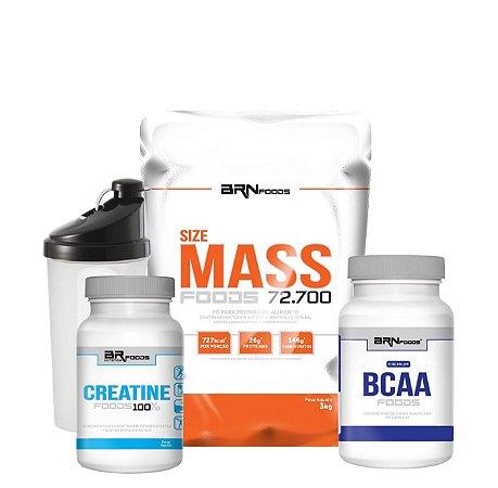 Size Mass Combo - BRN Foods