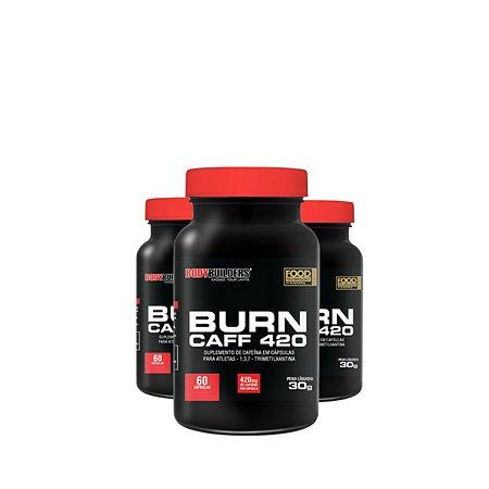 3X Burn Caff 420 (60 Caps) - Bodybuilders