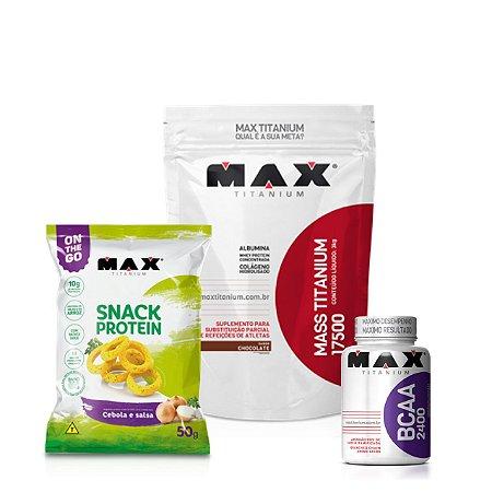 Massa Snack Protein - Max Titanium