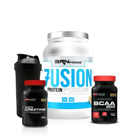 Fusion Whey Combo - BRN Foods