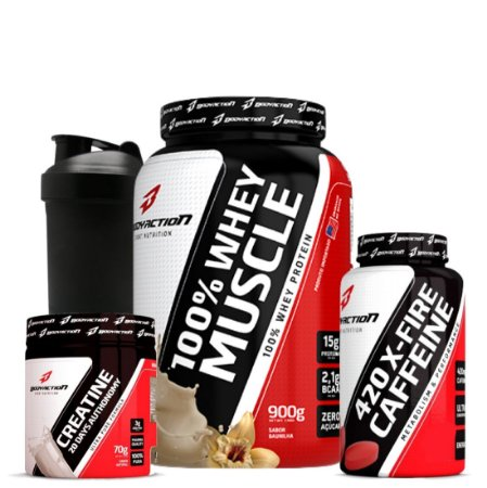 Whey 100% Muscle Combo - Bodyaction
