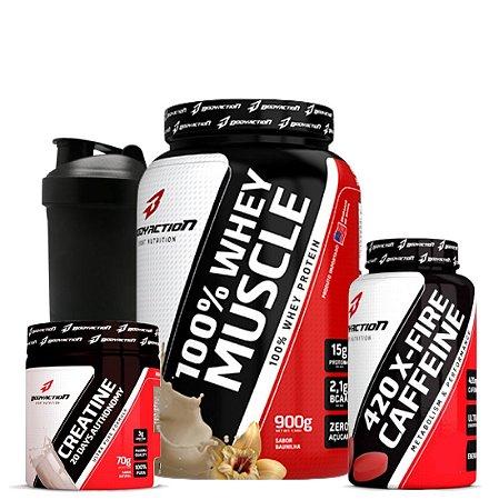 Whey 100% Muscle Combo - Bodyaction