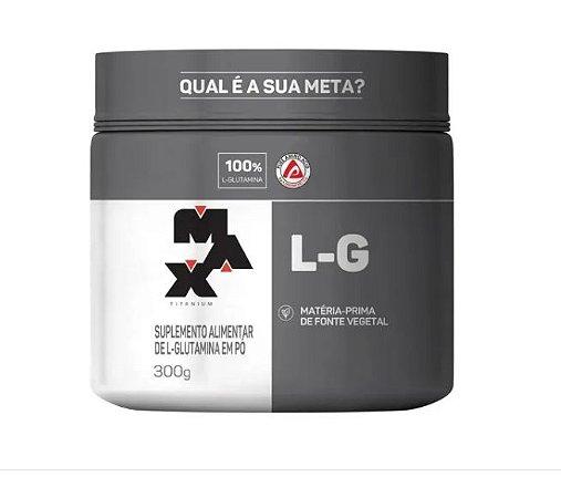 L -Glutamina (300g) - Max Titanium