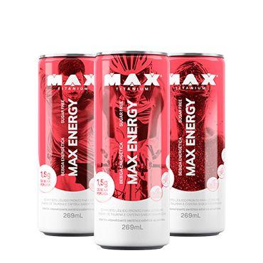 Max Energy (269ml) 6 unidades - Max Titanium