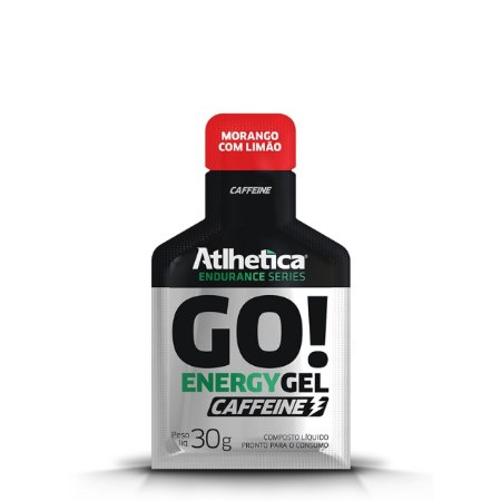 GO Energy Gel C/ Cafeína (10 unidades) - Atlhetica Nutrition