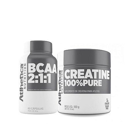 Bcaa + Crea Combo - Athletica Nutrition