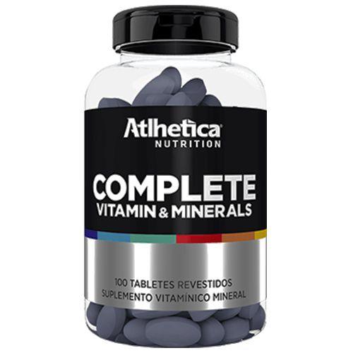Complete Vitamin & Minerals (100 tabs) - Atlhetica Nutrition