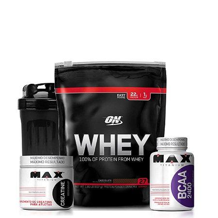 Combo Whey On Econômico (797g) - Optimum Nutrition