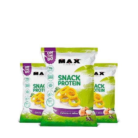 3x Snack Protein - Max Titanium