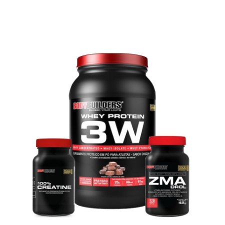 Protein 3W Combo (900g) - Bodybuilders