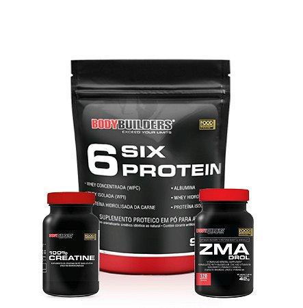 Combo ZMA + Six Protein (900g) - Bodybuilders