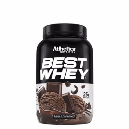 Best Whey (900g) Atlhetica Nutrition - Double Chocolate