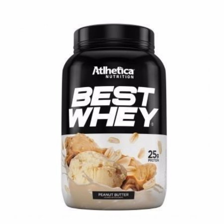 Best Whey (900g) Atlhetica Nutrition - Peanut Butter