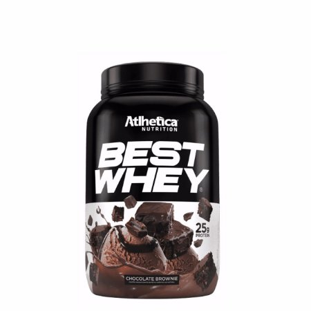 Best Whey (900g) Atlhetica Nutrition - Brownie Chocolate