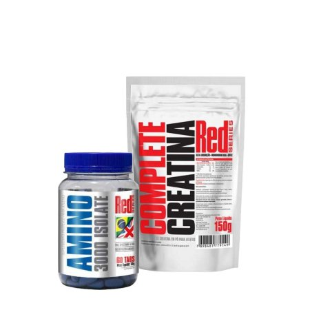 BCAA + CREA Combo - Red Series